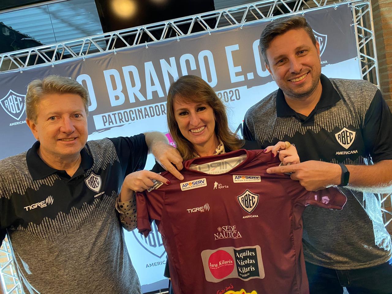 Aposerv Patrocinadora Oficial Rio Branco Esporte Clube Americana